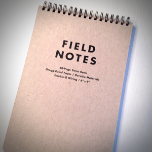 Radio Show Prep Planning with Field Notes